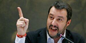 </span></figure></a> Il segretario federale della Lega Nord, Matteo Salvini, in una immagine del 19 dicembre 2014.<br>Foto ANSA